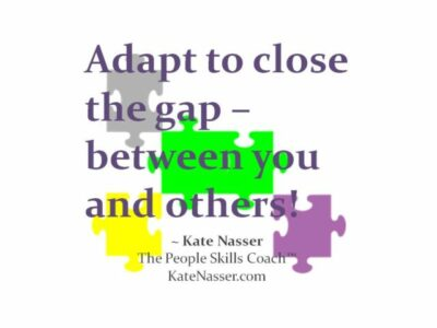"""Adapt to Close Gaps: Image is my quote """"Adapt to Close the Gap"""""""