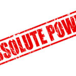 Extreme Absolutes: Image is sign saying Absolute Power