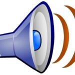 Extroverts Learning: Image is different megaphone.
