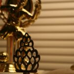 Acceptance Speeches: Image is a gold trophy.