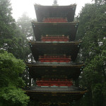 Strength of Balance: Image is Japanese multi level structure.