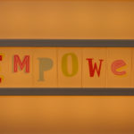 Empowerment Essential: Image is the word empower