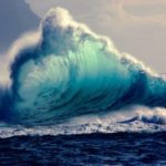 What Keeps Bullying Alive: Image is stormy waves.