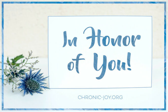 Daily Ways to Honor Work Colleagues: Image by Chronic Joy
