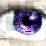 Manage Expectations: Image is an eye w/ lavender blue eyeball.