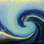 Super Talkers: Image is a big ocean wave.