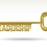 Key Leadership Transitions: Image is Gold Key w/ Word Leadership