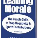 Leading Morale Behavior Tip: Image is the book cover.