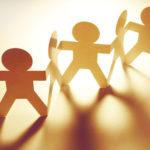 Make People Skills Easy: Image is paper human figures