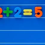 Leadership People Skills: Image is 2+2=5.