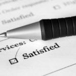 CIOS Checklist: Image is customer satisfaction box
